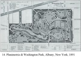 14_Planimetria_di_Washington_Park_Albany_New_York_1891